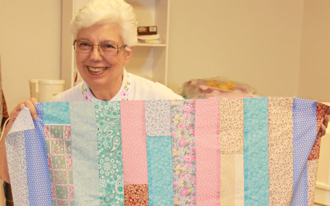 Women's group sews for a good cause