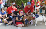 Patriotic pets on parade