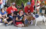 Patriotic pets on parade