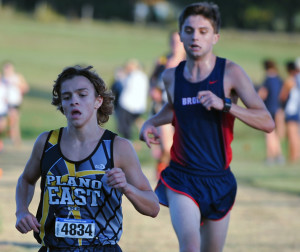 Evan Ghormley/Murphy Monitor Nathan Rankin led the Plano East boys to a fifth-place finish.