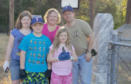 Family Cemetery cleanup