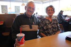 Gene and Vivian Dodson have many great memories of the Farmersville Dairy Queen and after more than 60 years of marriage the couple plans to enjoy banana splits and chicken finger baskets when the eatery is reopened.