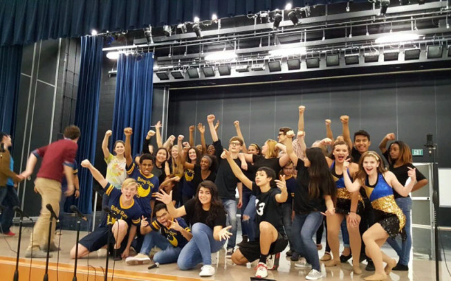 McMillen students 'kick off their Sunday shoes'