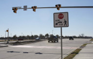 Watch out ahead: traffic control lights installed