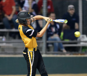 Joe Diehl/Murphy Monitor Ronni Ramos belts out a hit against Allen.