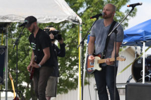 Jared Wood and his band perform during the Celebrate Freedom 26 Festival at Southfork Ranch in Parker June 25. The day-long festival featured 10 Christian bands sponsored by 94.9 FM KLTY and Interstate Batteries.