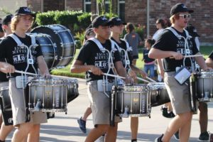 Members of That Wylie Band marched through multiple Wylie neighborhoods Saturday, Aug. 27 starting at 8 a.m. The March-a-Thon is held annually in an effort to raise funds for the band.