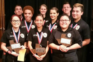 Members of the Murphy Police Explorers program brought home several teams and individuals honors earlier this month at the Texas Law Enforcement Explorers Advisors Association Texas State Law Enforcement Explorer Competition.