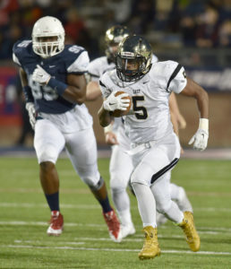 Roosevelt Joubert/C&SMedia Trey Hunter is among a talented group of ball carriers who return to the Plano East lineup in 2016.