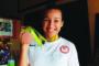 Bronze medalist to continue taekwondo career