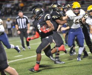 Plano East's Jonathan Meadors led the Panthers with 200 yards rushing and three touchdowns during last week's 60-35 win over McKinney. The Panthers look to take a step closer to the postseason this Friday by beating Plano West at Clark Stadium.