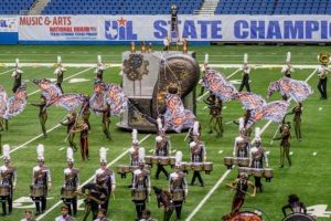 Plano East Senior High Band placed 26th in the Nov. 8-9 Class 6A UIL State Marching competition at the Alamodome in San Antonio Nov. 8-9.