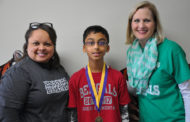 Boggess student Plano ISD Spelling Bee Champ