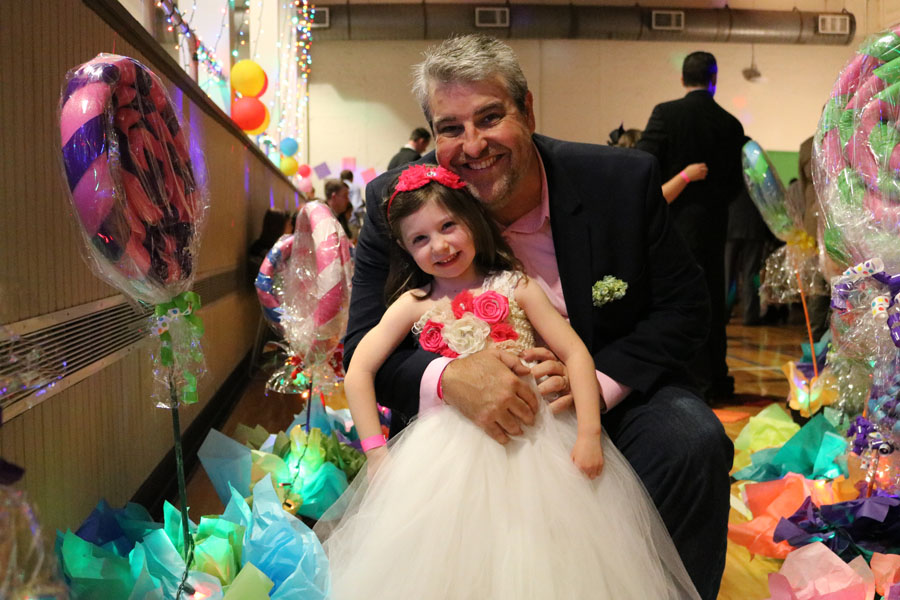 One sweet Daddy Daughter Dance