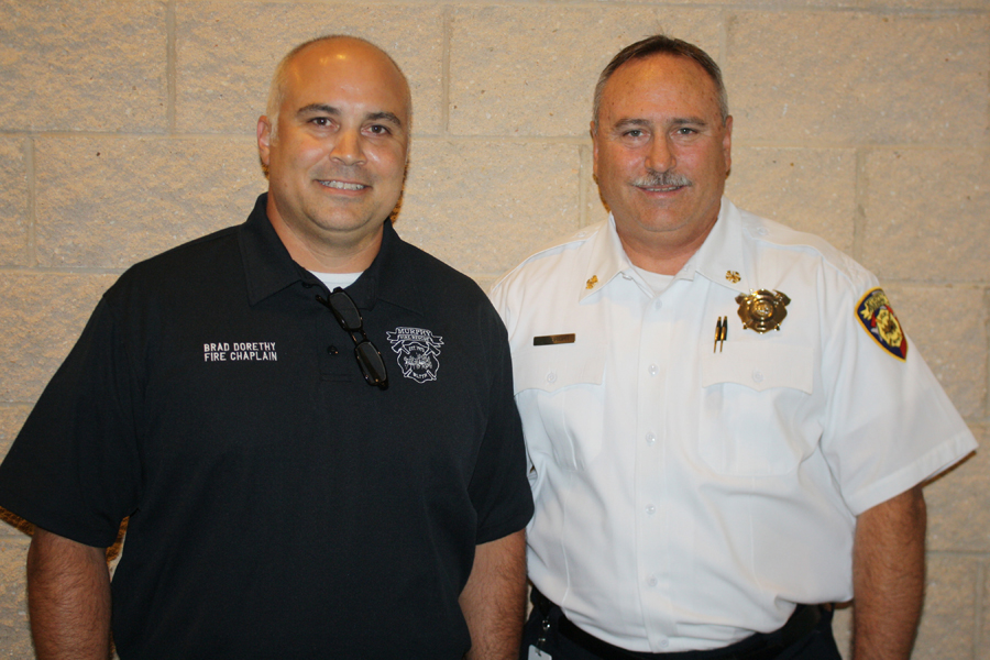 Fire department names chaplain