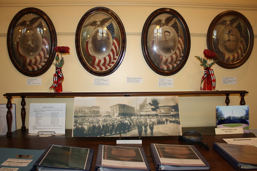 WWI exhibit features four hometown brothers