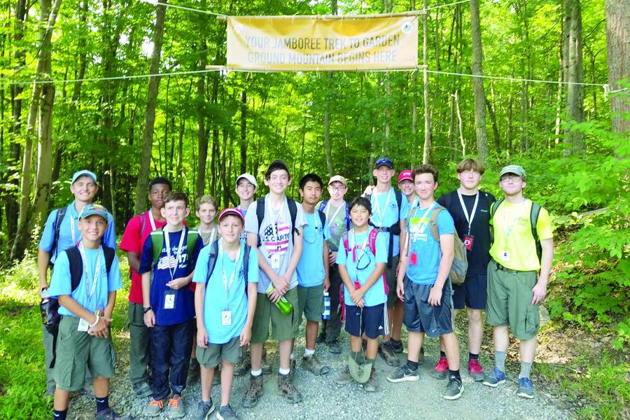 Troop 1776 explores outdoors