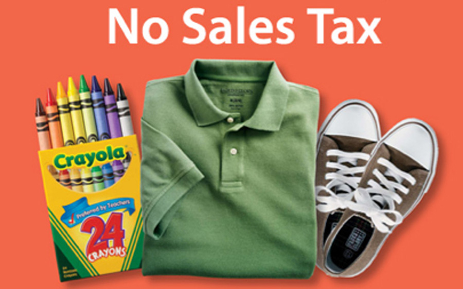 Texas sales tax holiday is this weekend