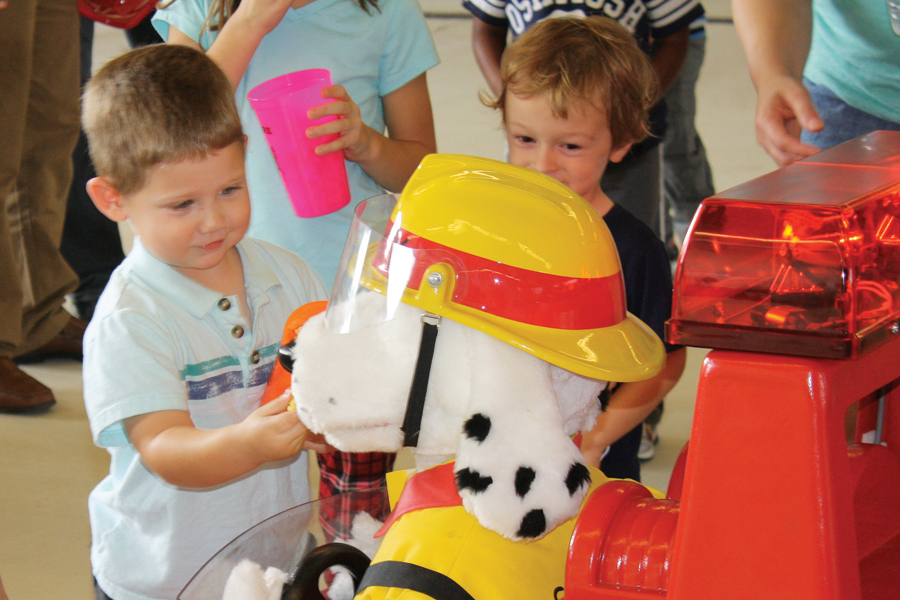 Fire department open house Saturday