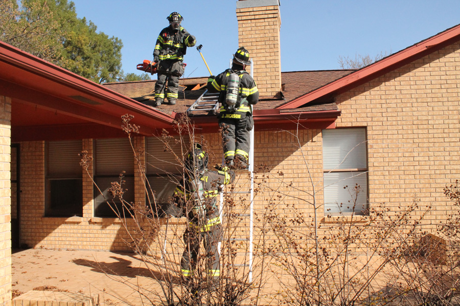 Friefighters get realistic training at donated house