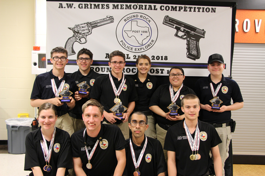 Police Explorers win trophies