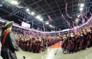 WHS graduates walk across the stage