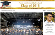 Copies of Plano East Senior High Graduation Section available