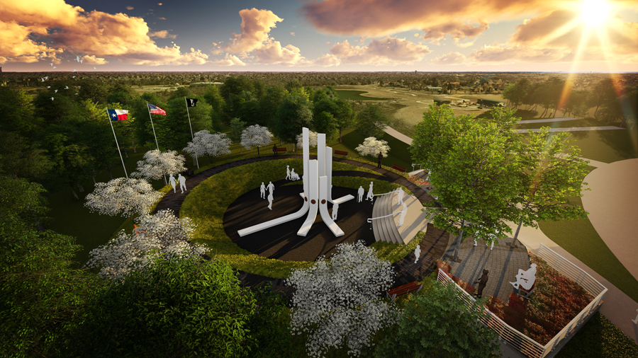 Veterans Tribute design unveiled