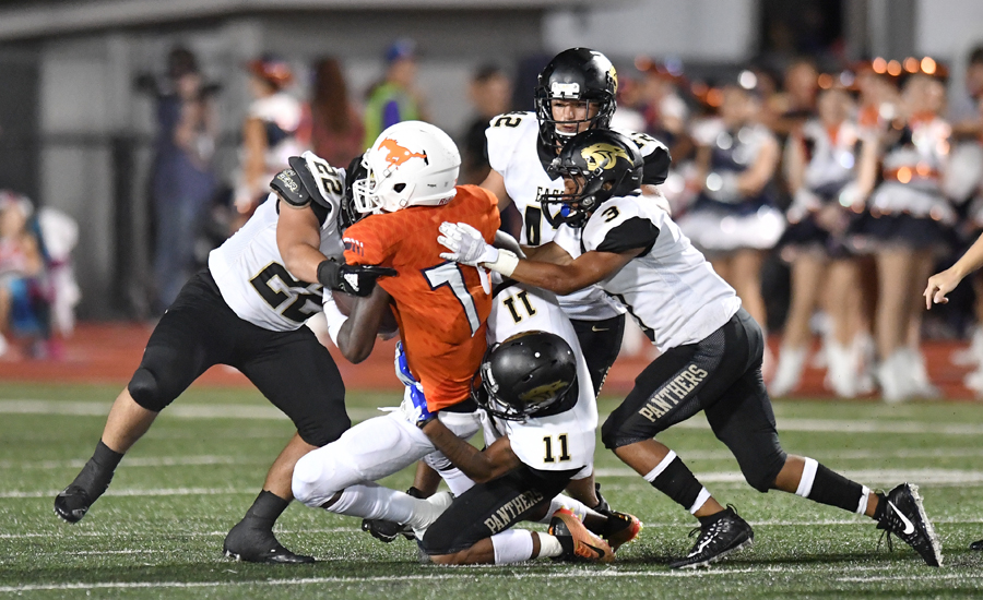 Panthers knock off talented Mustangs