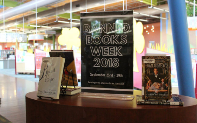 Library celebrates Banned Books Week