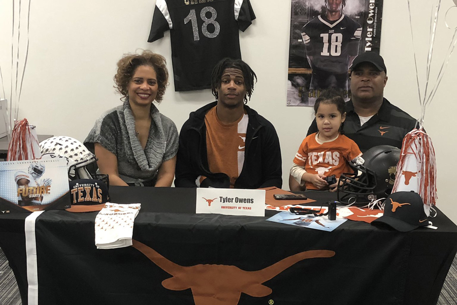 PESH student signs for UT