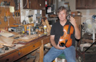 Violin maker carries on family craft