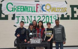 Murphy Middle School robotics team advances to championship