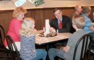 Congressman converses with community