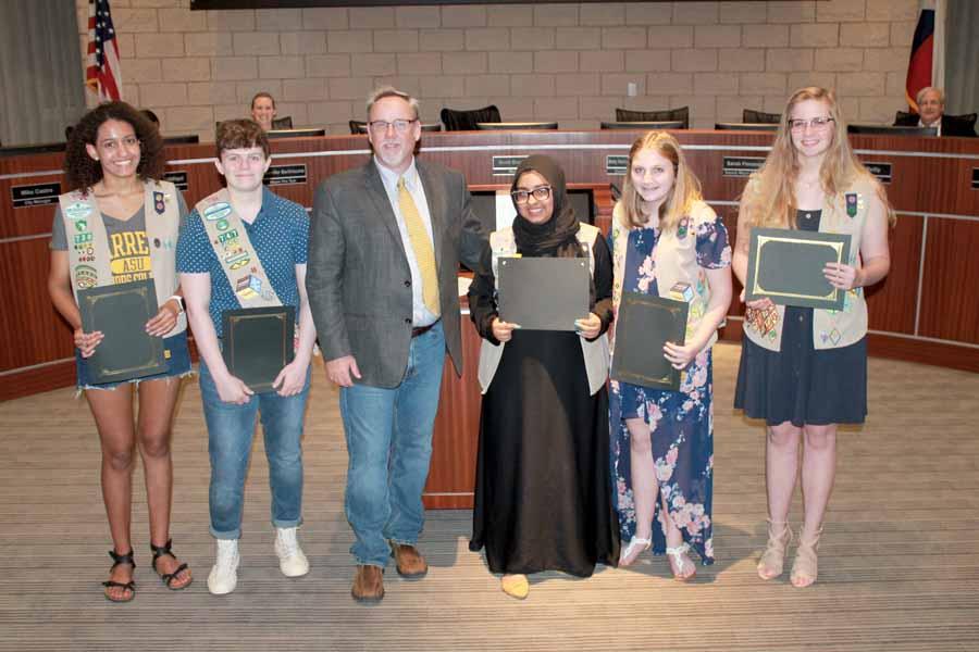 Five local Girl Scouts earn Gold Award