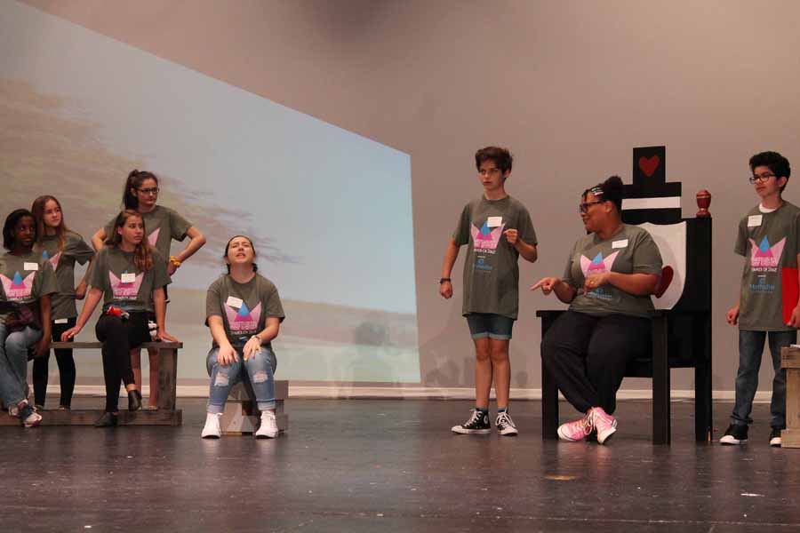 WISD students celebrate theatre