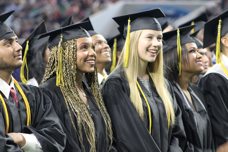 Plano East commencement celebrated