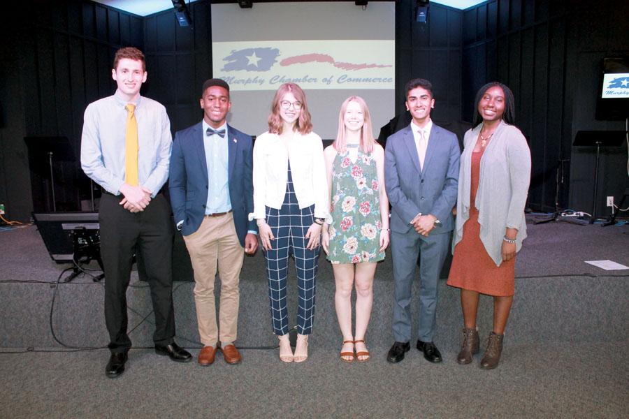 6 students awarded scholarships