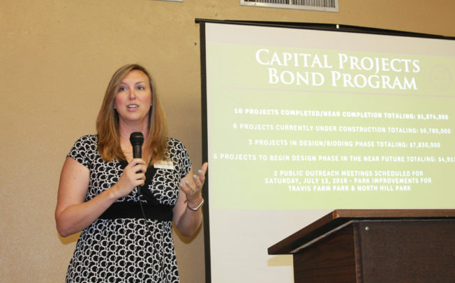 Mayor pro tem promotes city at annual luncheon