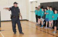Youth learn police skills at academy