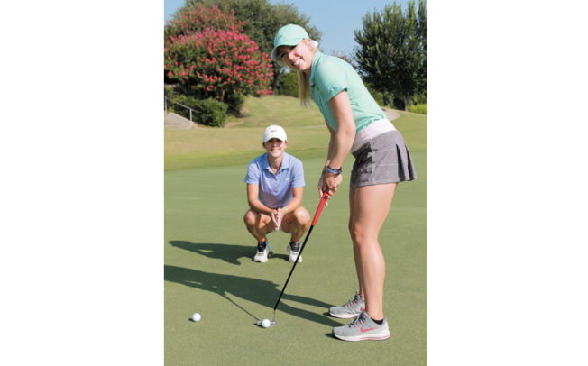 Sisters build reputation in women's golf