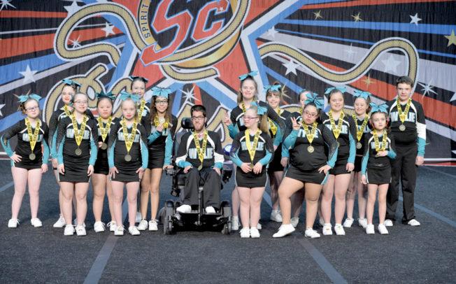 Special needs cheer team spreads joy