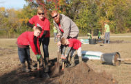 Arbor Day tree planting Nov. 2