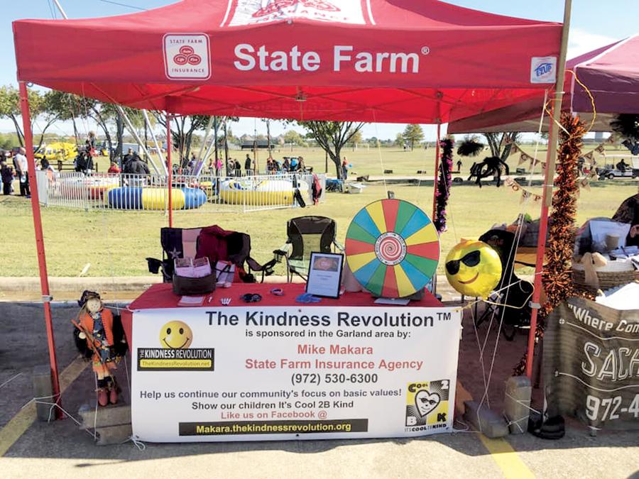Kindness Revolution sweeps area