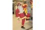 Santa suits up for annual firetruck rides Friday