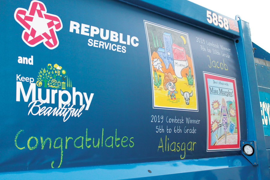 Recycling art contest opens