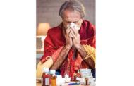 Flu season spiking