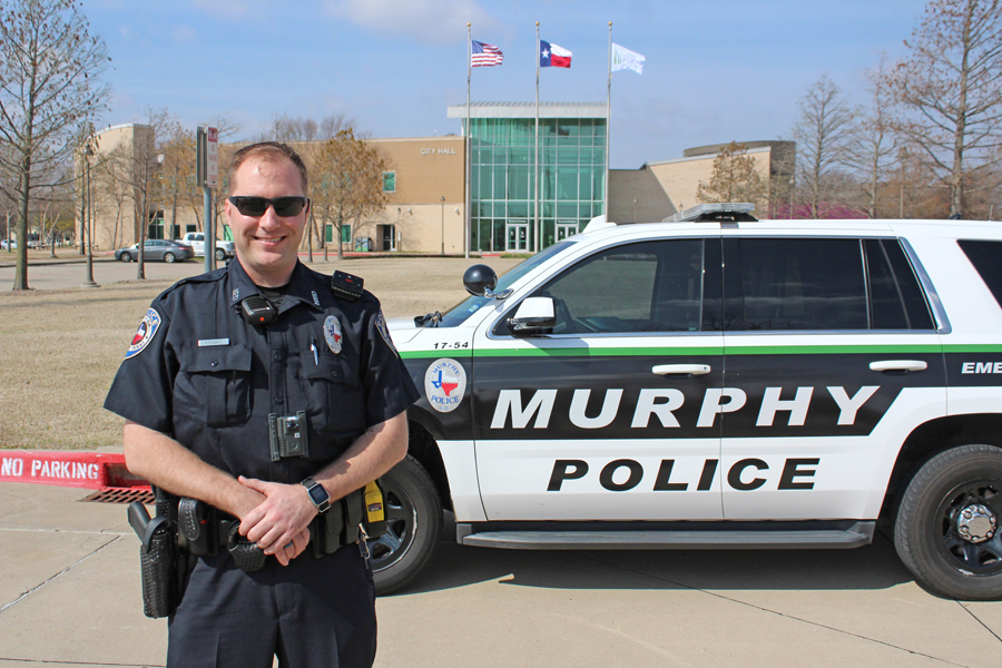 New officer joins Murphy Police Department