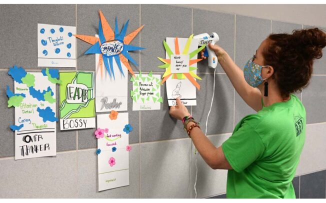 Educators empower students to cope with pandemic