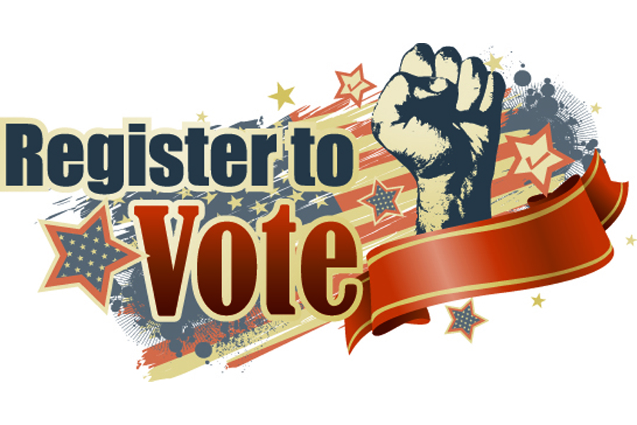 Voter registration deadline is April 1